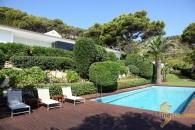 pool front garden