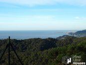 Costa Brava bouwgrond te koop met zeezicht