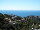 Costa Brava bouwkavel te koop met zeezicht