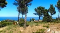 Land for sale with sea view Begur