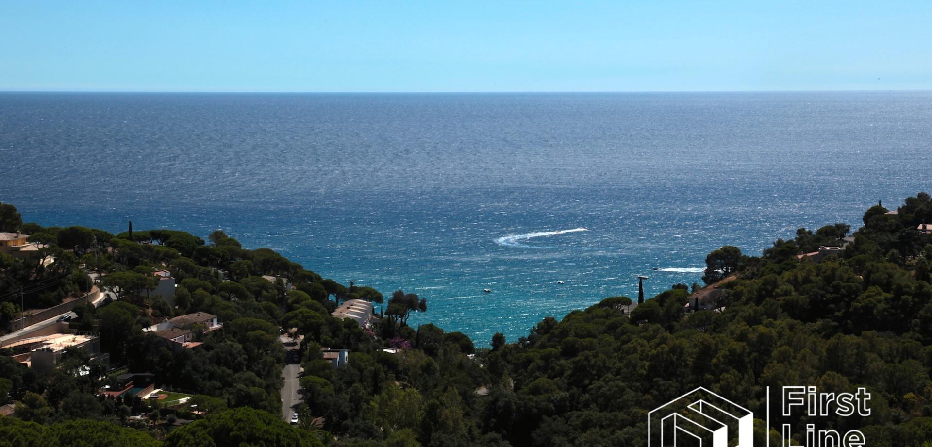holiday house for sale sea view Tossa de Mar