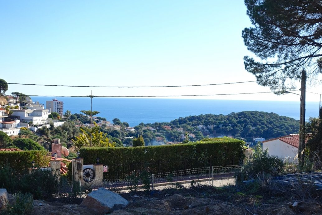 building plot for sale Lloret de Mar Costa Brava