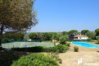 detached villa with community pool Costa Brava