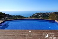 sea view property to buy with private pool
