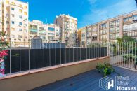 luxury apartment Barcelona with private terrace