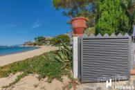 gate beach view