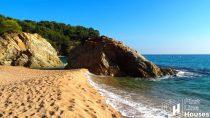 Cala Canyelles beach Lloret de Mar