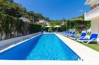 holiday villa with private pool lloret de mar