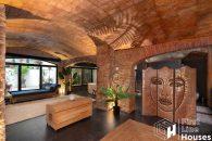 Catalan masia style master suite